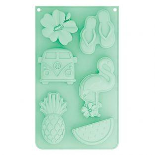 Silicone cake mold - Summer