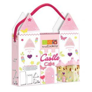 Castle Cake cookie cutters Kit
