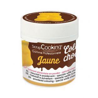 Colorant alimentaire liposoluble Color'choco 5 g - jaune