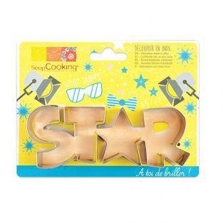 Cortador de galletas de acero inoxidable - Estrella