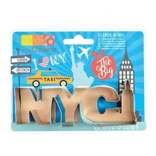 Stainless steel cookie cutter - New York