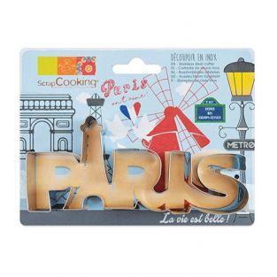 Stainless steel cookie cutter - Paris