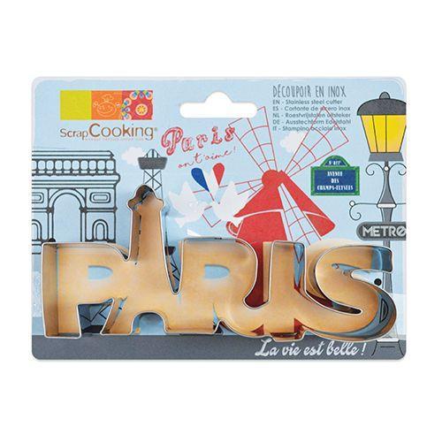 Stainless steel cookie cutter - Paris