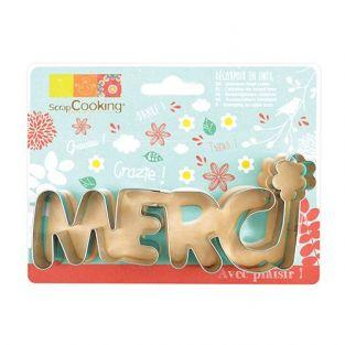 Stainless steel cookie cutter - Merci