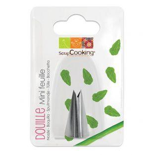 Boquilla pastelera - Mini hojas