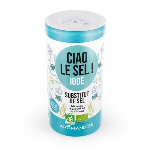 Substitut de sel  Ciao le sel 70 g - Iodé