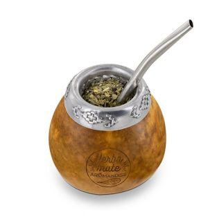 Calabash and bombilla for Mate