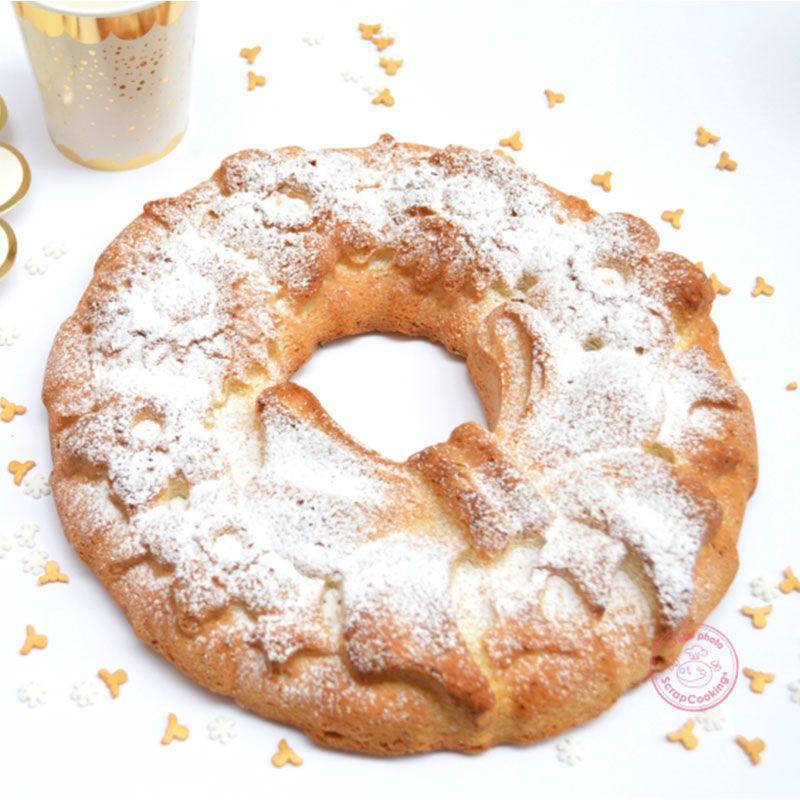 Moule à gâteau silicone couronne