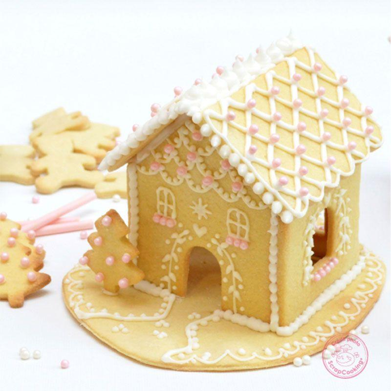 Kit Cake cutters for Gingerbread House