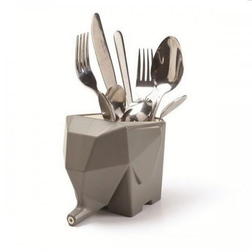 Cutlery Drainer - Elephant