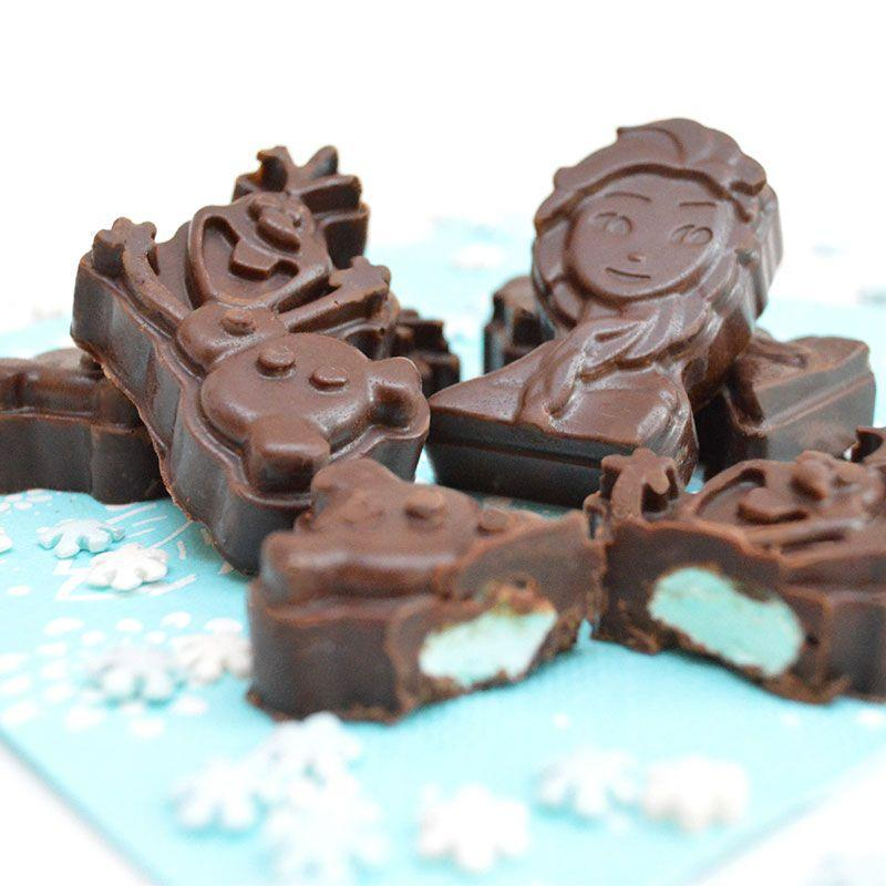 Moule à chocolats Reine des Neiges