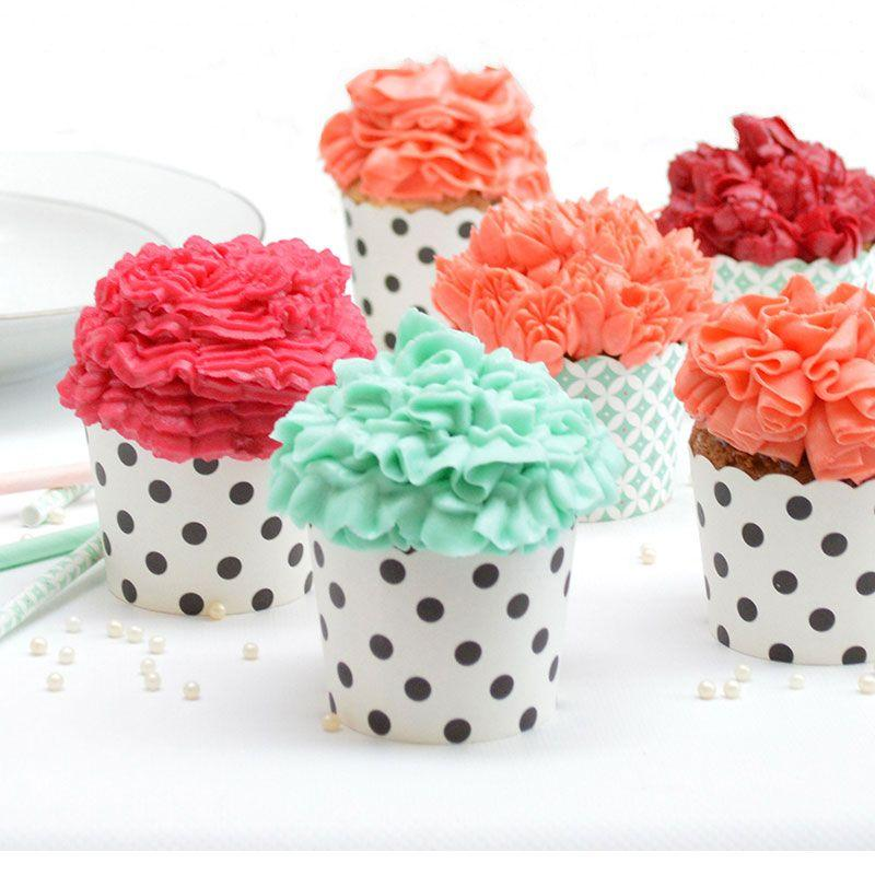Kit 3D Stainless steel nozzles + icing bags