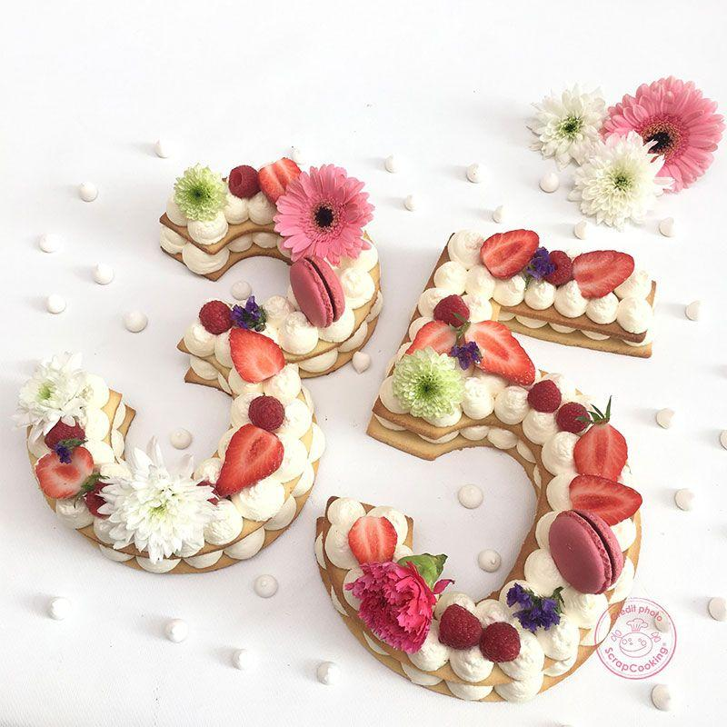 Coffret Number cake