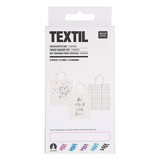 5 rotuladores para textiles -...