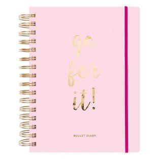 96-sheet spiral Bullet journal 16,5 x...
