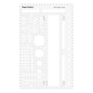 Terminkalender Schablonen 15 x 9,5 cm...
