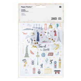 260 Stickers - Monuments of...