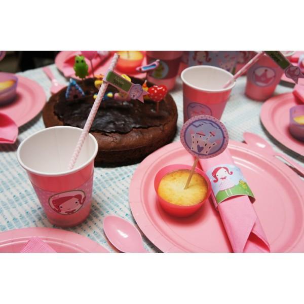 kit anniversaire princesse complet 8 10 12 enfants youdoit. Black Bedroom Furniture Sets. Home Design Ideas