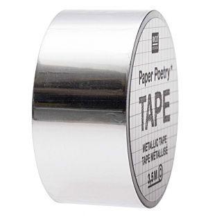 Silver mirror masking tape...
