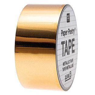 Golden mirror masking tape...