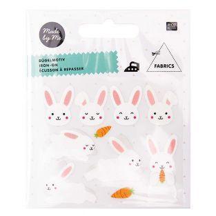 Bügelmotive für Kinder - Kleine Hasen