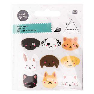 Bügelmotive für Kinder - Haustiere