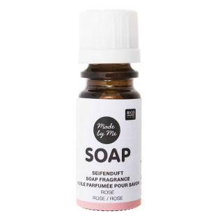 Huile parfumée pour savon à la rose -...
