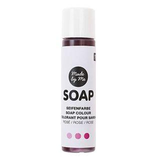 Colorant pour savon rose - 10 ml