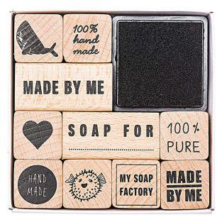 Soap stamps set - 100% authentic