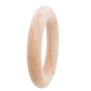 Anillo de madera para sonajero Ø 7 cm