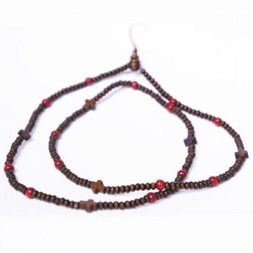 Bracelet bois tibétain