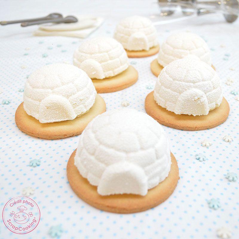 Molde de pasteles iglús