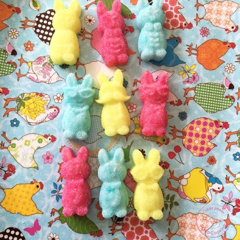 Molde de chocolates - Conejos graciosos