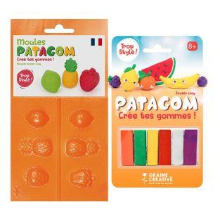Patagom eraser clay and...