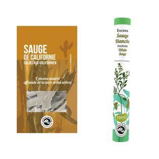 White sage incense & California sage...