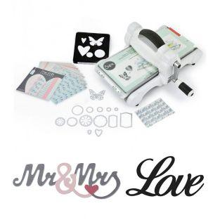 Kit débutant Sizzix Big Shot -...