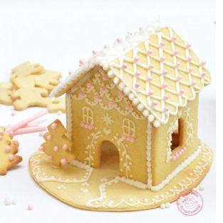 Kit Casa de pan de jengibre -...