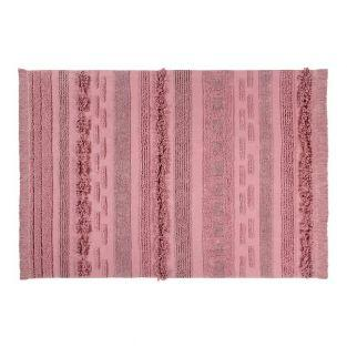 Tapis coton air Canyon - rose - 170 x...