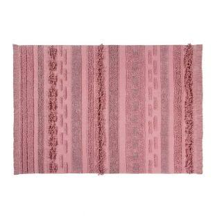 Tapis coton air Canyon - rose - 140 x...