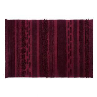Tapis coton air safari - rouge - 170...