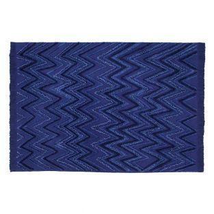 Baumwollteppich Alaska - Blau - 170 x...