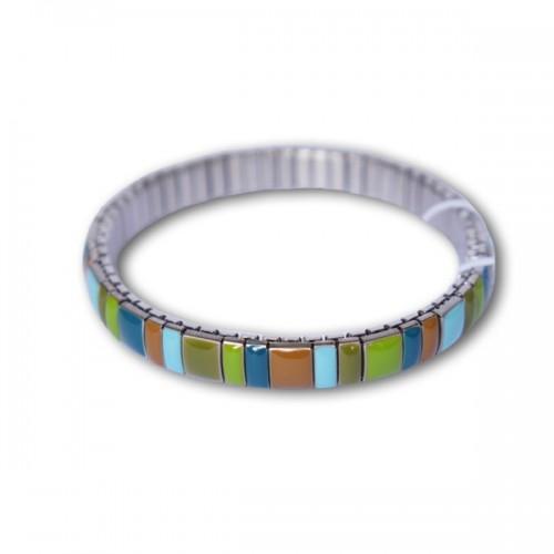 Multicolor metal Bracelet w/ Star link
