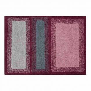 Cotton carpet Safari Water - red -...