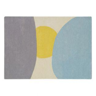 Wool carpet with Sun pattern - 140 x 200