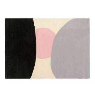 Wool carpet with sunset pattern - 140...
