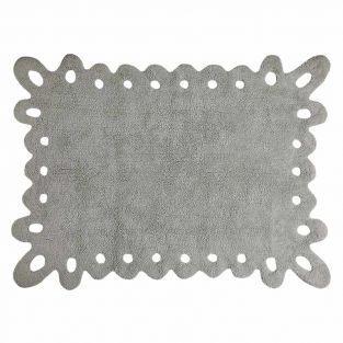Alfombra de algodón Original - gris -...