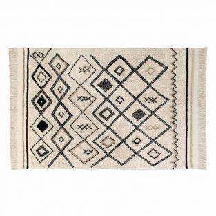 Tapis coton Ber Ethnic - beige -120 x...