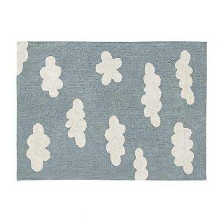 Cotton carpet with Cloud pattern -...
