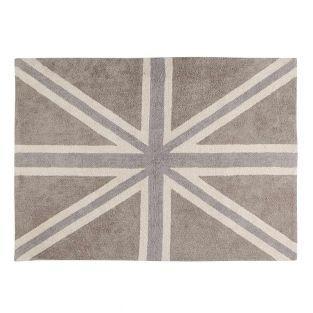 Tapis coton motif drapeau RU -...