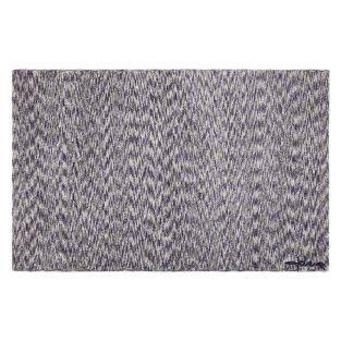 Tapis coton motif fusion Arian - lin...